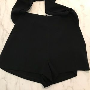 Lush Shorts - Lush High Waisted Shorts with Front Tie